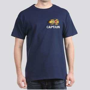 Fire Department Captain Dark T-Shirt