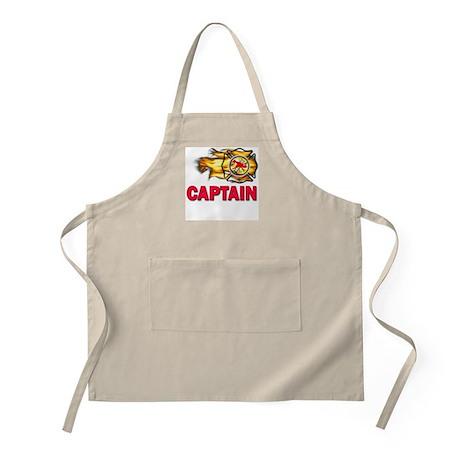 Fire Department Captain BBQ Apron