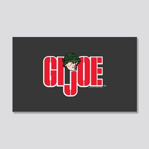 GI Joe Logo 20x12 Wall Decal