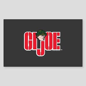 GI Joe Logo Sticker (Rectangle)