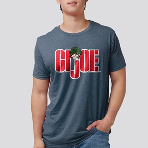 GI Joe Logo Mens Tri-blend T-Shirt