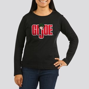 GI Joe Logo Women's Long Sleeve Dark T-Shirt