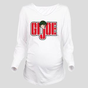GI Joe Logo Long Sleeve Maternity T-Shirt