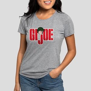 GI Joe Logo Womens Tri-blend T-Shirt