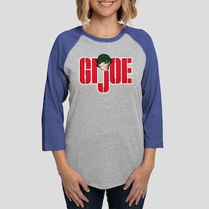 GI Joe Logo Womens Baseball Tee