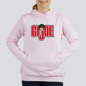 GI Joe Logo Women's Hooded Sweatshirt