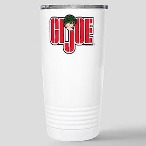 GI Joe Logo 16 oz Stainless Steel Travel Mug