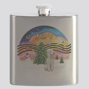XMusic2 - Bedlington Terrier Flask
