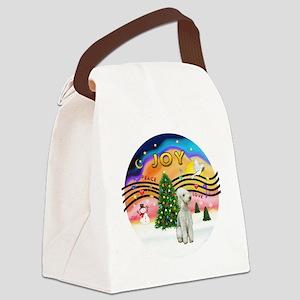 XMusic2 - Bedlington Terrier Canvas Lunch Bag