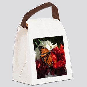 2-Butterfly 10 Canvas Lunch Bag
