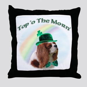 Cavalier Morn Throw Pillow