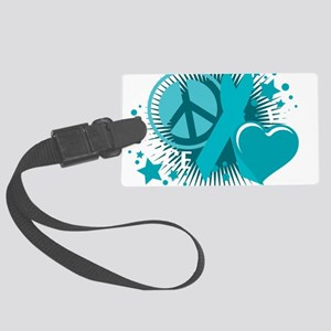 PCOS-PLC-blk Large Luggage Tag