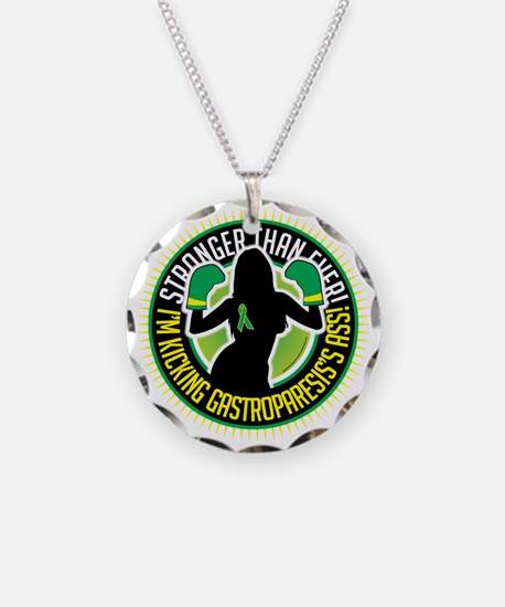 Gastroparesis-Boxing-Girl Necklace