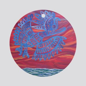 Mexican Roadrunner Ornament (Round)