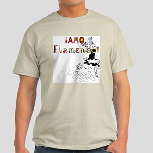 Amo el Flamenco, Ash Grey T-Shirt
