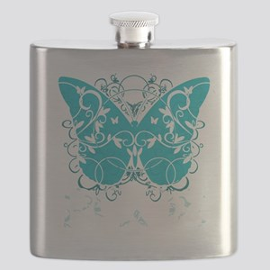 PCOS-Butterfly-BLK Flask