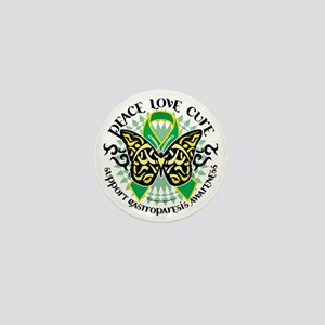 Gastroparesis-Butterfly-Tribal-2 Mini Button