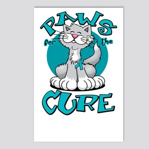Paws-for-the-Cure-Cat-PCO Postcards (Package of 8)