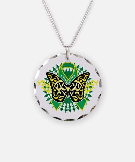 Gastroparesis-Butterfly-Trib Necklace