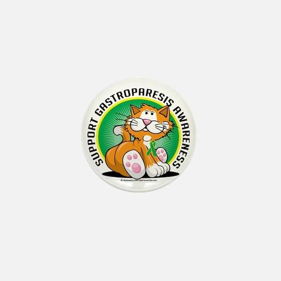 Gastroparesis-Cat Mini Button