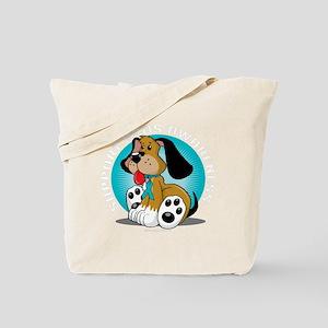 PCOS-Dog-blk Tote Bag