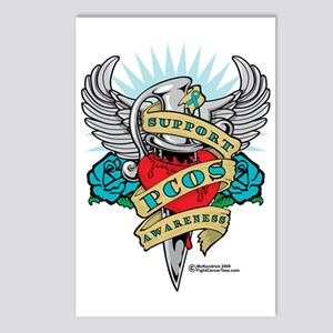 PCOS-Dagger Postcards (Package of 8)