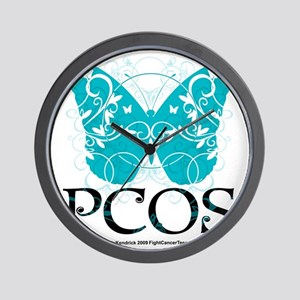 PCOS-Butterfly Wall Clock