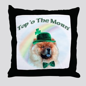 Chow Morn Throw Pillow