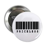 Priceless Barcode Design Button