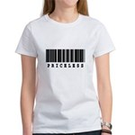 Priceless Barcode Design Women's T-Shirt