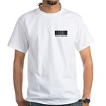 Priceless Barcode Design White T-Shirt