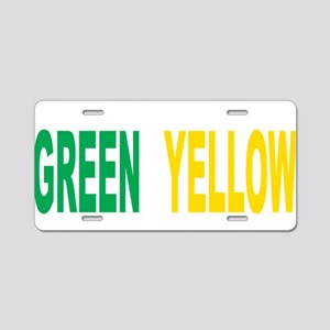 Gastroparesis-THINK-Green-- Aluminum License Plate