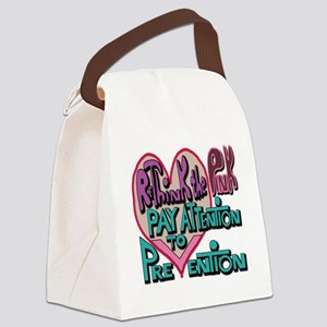 rethinkthepinkcafepress Canvas Lunch Bag