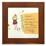 Reasons to Fall for Autumn Framed Tile