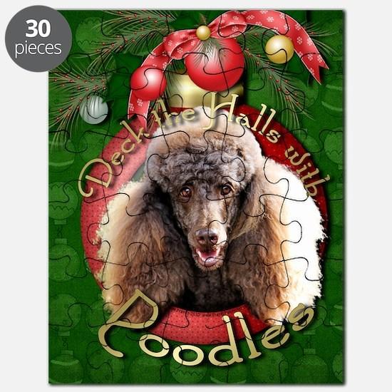 DeckHalls_Poodles_Chocolate Puzzle