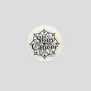 Skin-Cancer-Lotus Mini Button