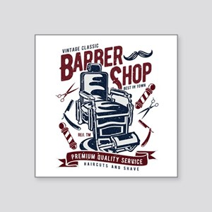 Barber Shop Sticker