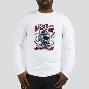 Barber Shop Long Sleeve T-Shirt