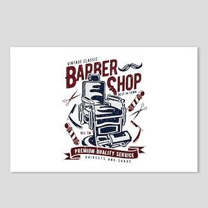 Barber Shop Postcards (Package of 8)