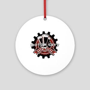 MCBT - Logo Round Ornament