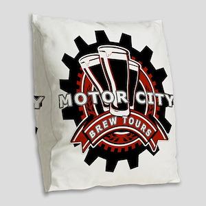 MCBT - Logo Burlap Throw Pillow