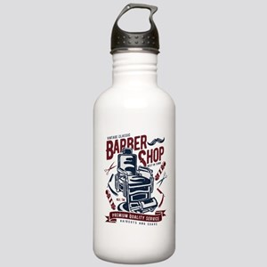 Barber Shop Stainless Water Bottle 1.0L