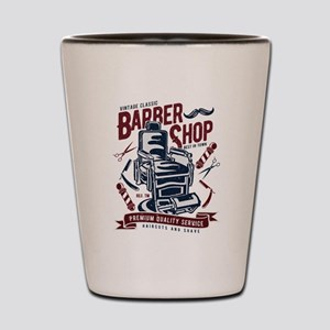 Barber Shop Shot Glass