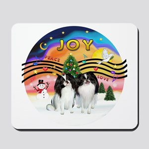 XMusic2-Two Jap Chins Mousepad
