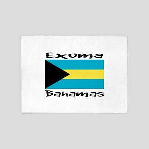 Exuma Bahamas 5'x7'Area Rug