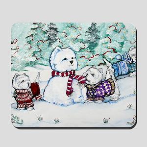 Christmas Card 1 Mousepad
