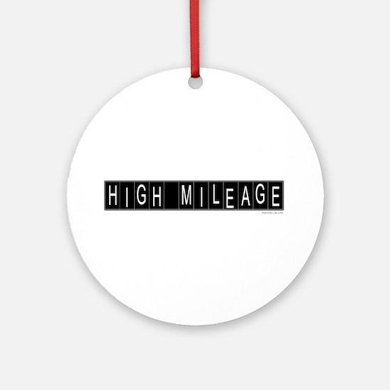 High Mileage Ornament (Round)