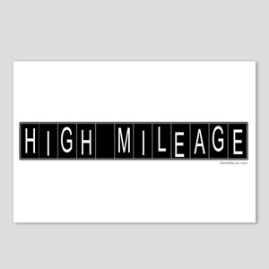 High Mileage Postcards (Package of 8)