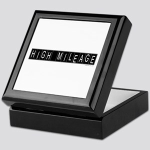 High Mileage Keepsake Box