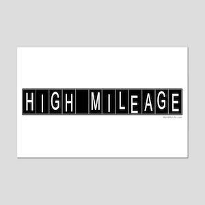 High Mileage Mini Poster Print